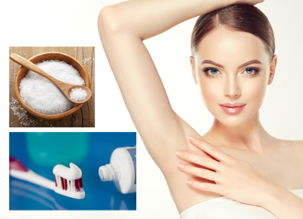 Cách Trị Thâm Nách Bằng Kem Đánh Răng
