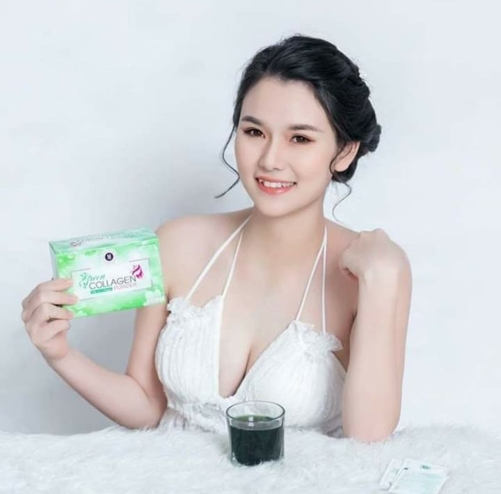 Diệp lục collagen review