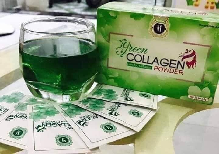 diệp lục collagen