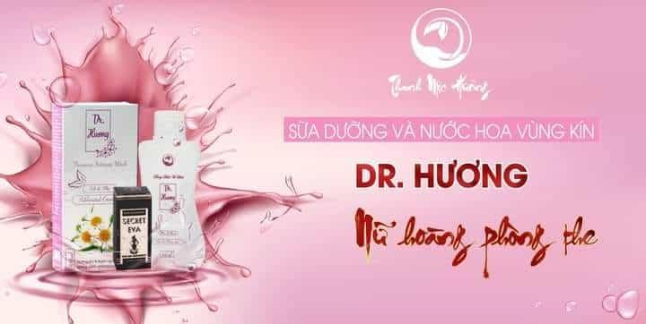 dung dịch vệ sinh dr hương Thanh Mộc Hương