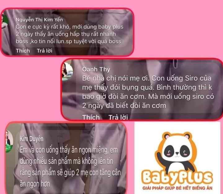 review siro ăn ngon babyplus