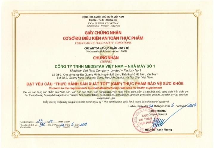 Siro baby plus được sản xuất tại nhà máy đạt chuẩn GMP Hàng đầu Việt nam