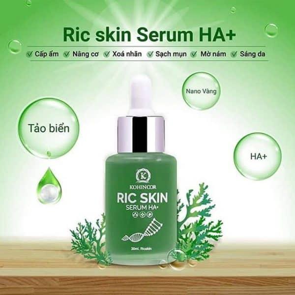 serum ric skin có tác dụng gì