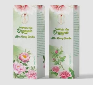 sữa tắm organic mộc hương garden