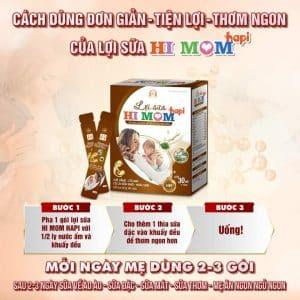 lợi sữa hi mom